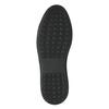 Kožené pánské tenisky s hadím vzorem bata, hnědá, 846-3616 - 26