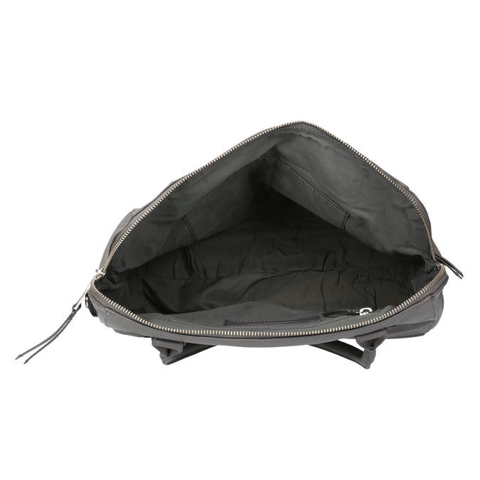 Šedá kožená kabelka gabor-bags, šedá, 964-2001 - 15