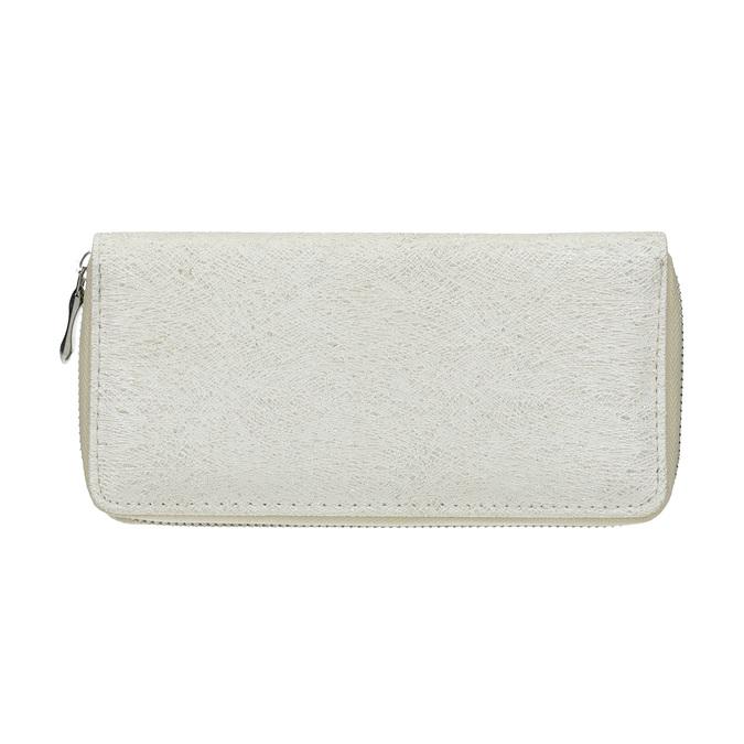 Elegantní dámská peněženka bata, stříbrná, 941-1151 - 26