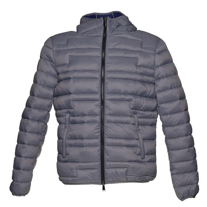 Pánská bunda s kapucí bata, šedá, 979-2627 - 13