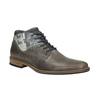 Ležérní pánské polobotky bata, šedá, 826-2735 - 13