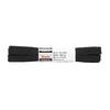 Černé bavlněné tkaničky 200 cm bata, černá, 901-6401 - 13