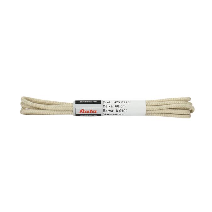 Béžové tkaničky bata, béžová, 901-8607 - 13