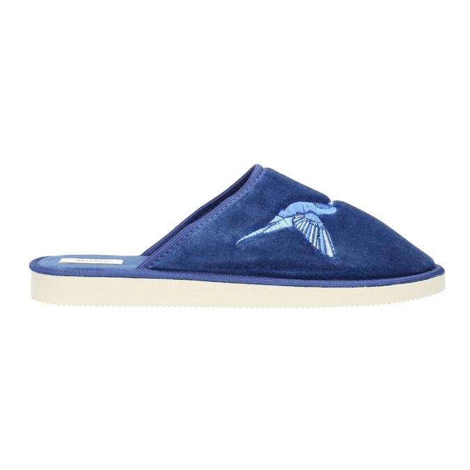 Modré domácí pantofle dámské bata, modrá, 579-9608 - 15