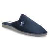 Pánská domácí obuv s plnou špicí bata, modrá, 879-9605 - 13