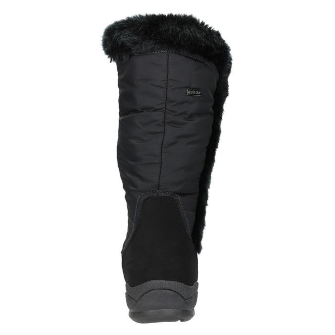 Černé sněhule s kožíškem bata, černá, 599-6613 - 17