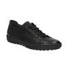 Dámské kožené tenisky bata, černá, 524-6349 - 13