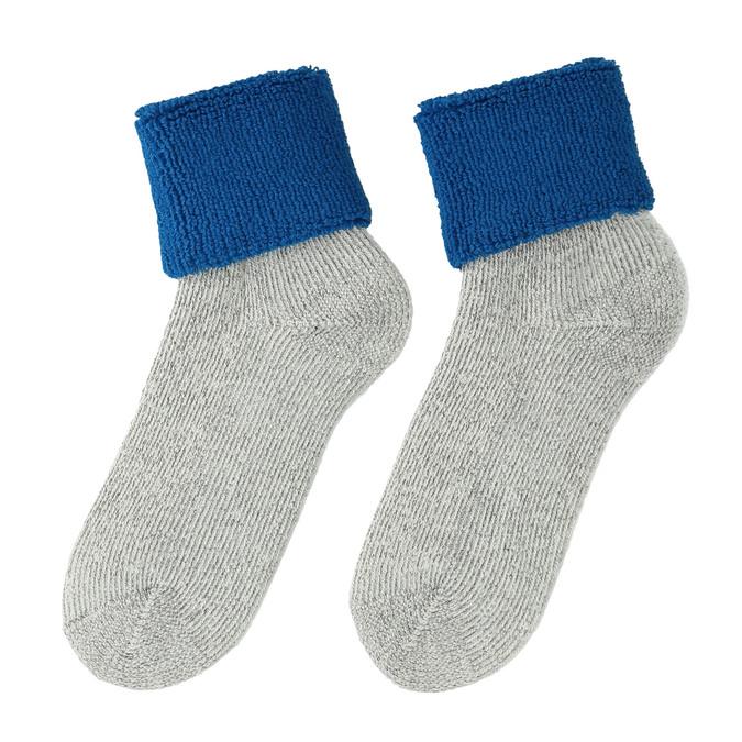 Dámské Termo ponožky matex, šedá, modrá, 919-9381 - 26