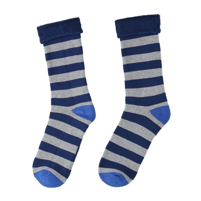 Teplé dětské ponožky bata, modrá, 919-9436 - 26