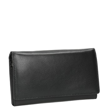 Dámská kožená peněženka bata, černá, 944-6357 - 13