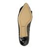 Lodičky s mašlí bata, zlatá, černá, 629-8630 - 26
