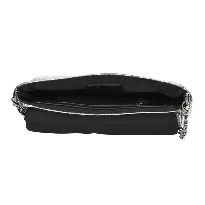 Dámské stříbrné psaníčko bata, stříbrná, 969-1220 - 15