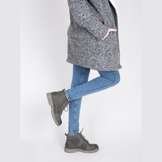 Dámská kotníčková obuv weinbrenner, šedá, 594-2409 - 18