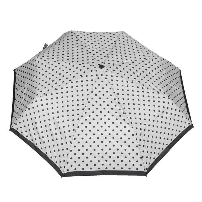 Skládací deštník s puntíky bata, bílá, 909-8601 - 26