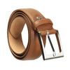 Pánský kožený opasek hnědý bata, hnědá, 954-4153 - 13