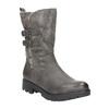 Dámské kozačky s kožíškem bata, šedá, 599-2610 - 13