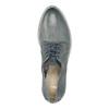 Dámské kožené polobotky modré bata, modrá, 2021-526-9621 - 19