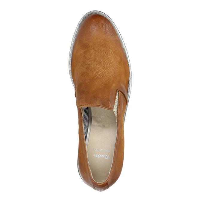 Dámské kožené Loafers bata, 2020-516-4603 - 19