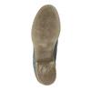 Kožená kotníčková obuv modrá bata, modrá, 2021-596-9646 - 26