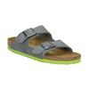 Dětská domácí obuv birkenstock, šedá, 361-2013 - 13