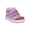 Dívčí kotníčková obuv s kytičkami bubblegummers, fialová, 2020-121-9612 - 13