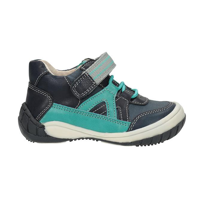 Modrá chlapecká obuv bubblegummers, modrá, 111-9615 - 15