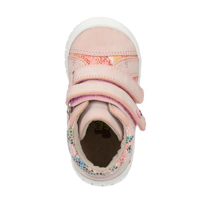 Dívčí kotníčková obuv růžová bubblegummers, růžová, 121-5613 - 19