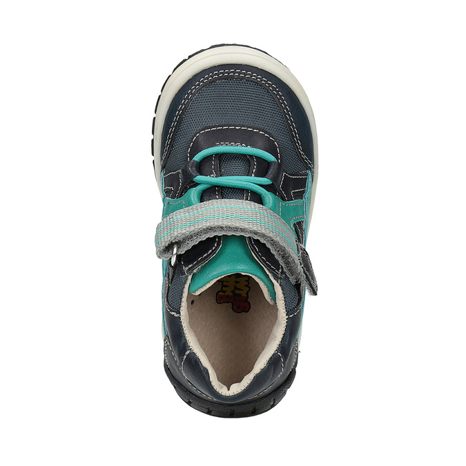Modrá chlapecká obuv bubblegummers, modrá, 2020-111-9615 - 19