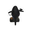 Černé lodičky s mašlí kolem kotníku bata, černá, 621-6600 - 17