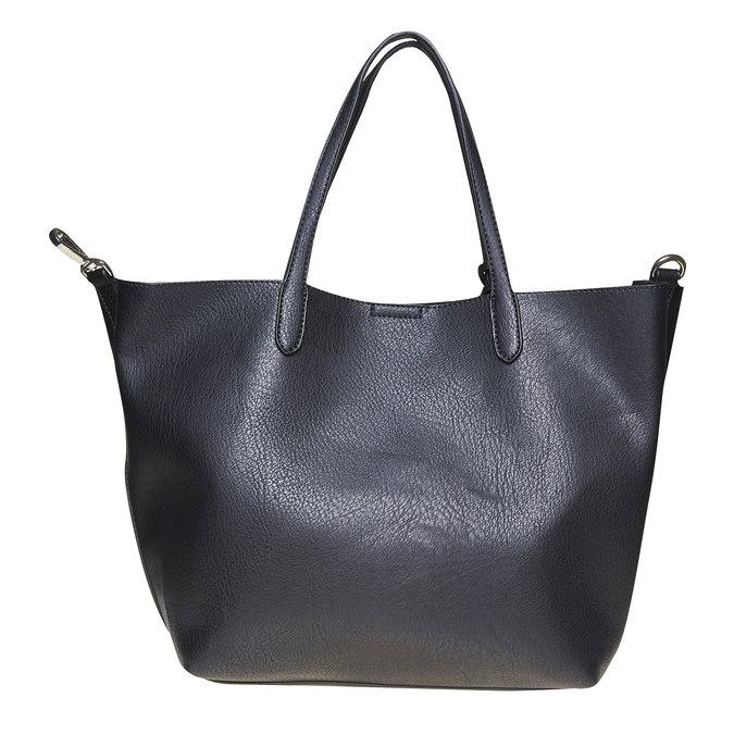Dámská kabelka s perforací bata, černá, 961-6274 - 26