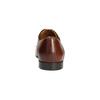 Hnědé kožené polobotky se zdobením conhpol, hnědá, 826-3837 - 17