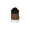 Kožené kotníčkové tenisky bata, hnědá, 844-3631 - 17
