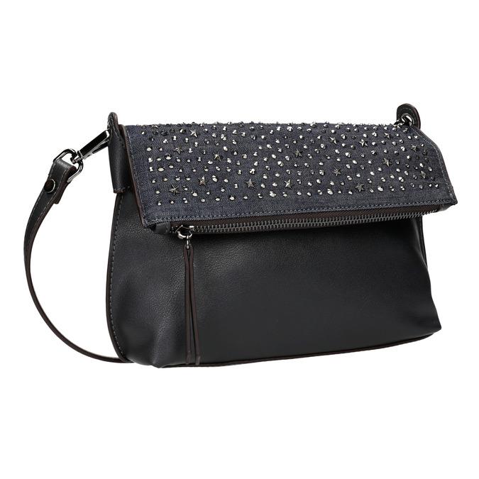 Dámská Crossbody kabelka s hvězdičkami bata, modrá, 2020-961-9302 - 13