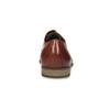Hnědé pánské oxfordky z kůže vagabond, hnědá, 824-3048 - 15