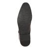 Hnědé kožené polobotky bata, hnědá, 826-4796 - 26