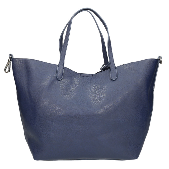 Modrá kabelka se střapci bata, modrá, 961-9274 - 19