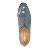 Kožené dámské polobotky bata, modrá, 2021-528-9633 - 19