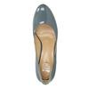 Kožené dámské lodičky insolia, modrá, 2021-728-9643 - 19