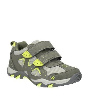 Sportovní dětské tenisky mini-b, zelená, 411-7605 - 13