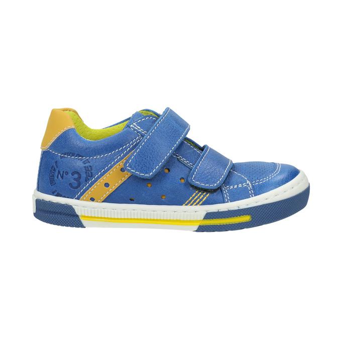 Dětské kožené tenisky mini-b, modrá, 2020-214-9600 - 15