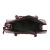 Vínová kabelka s pevnými uchy bata, červená, 2020-961-5740 - 15
