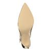 Zlaté lodičky s volnou patou insolia, zlatá, 721-8605 - 26