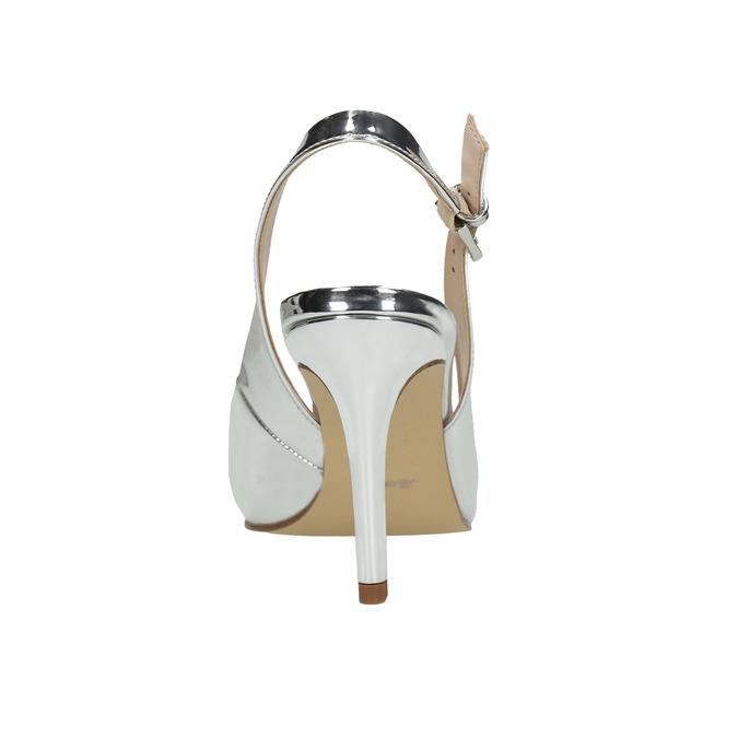 Stříbrné lodičky s volnou patou insolia, stříbrná, 721-1605 - 17