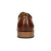 Ležérní kožené polobotky hnědé bata, hnědá, 826-3820 - 17