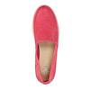 Kožená obuv s perforací bata-light, růžová, 516-5601 - 19
