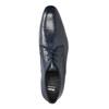 Modré pánské polobotky z kůže bata, modrá, 826-9836 - 19