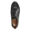 Dámské kožené polobotky bata, černá, 526-6635 - 15