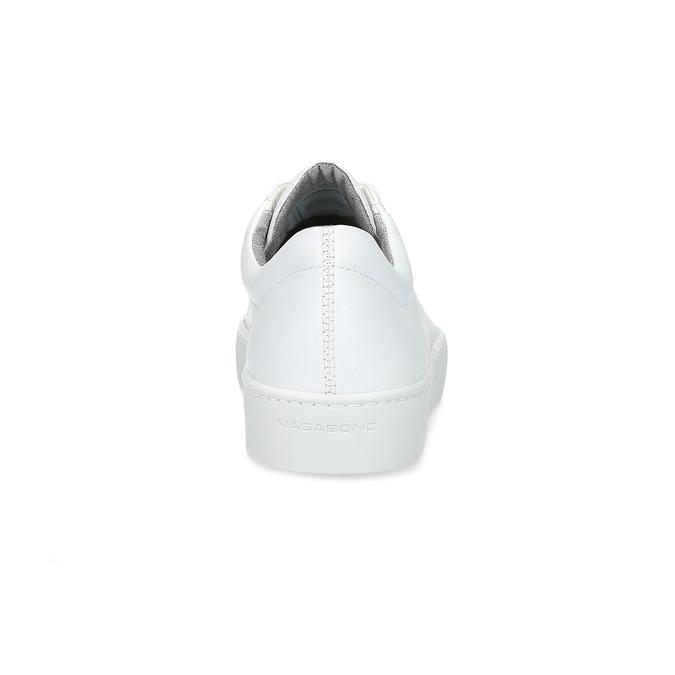 Bílé kožené tenisky dámské vagabond, bílá, 624-1019 - 15