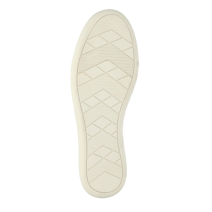 Lehká dámská nazouvací obuv bata, béžová, 516-8601 - 26