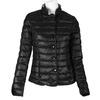 Prošívaná bunda s límečkem bata, černá, 979-6206 - 13